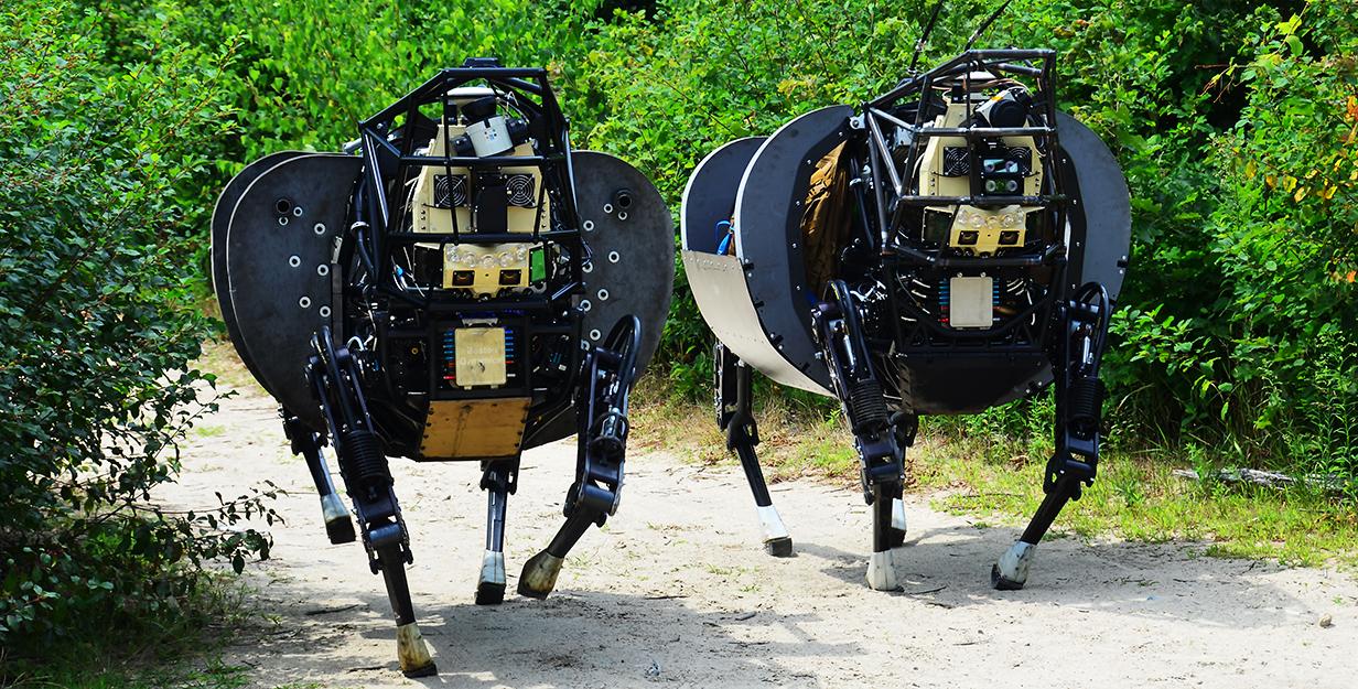Darpa BigDog Robot
