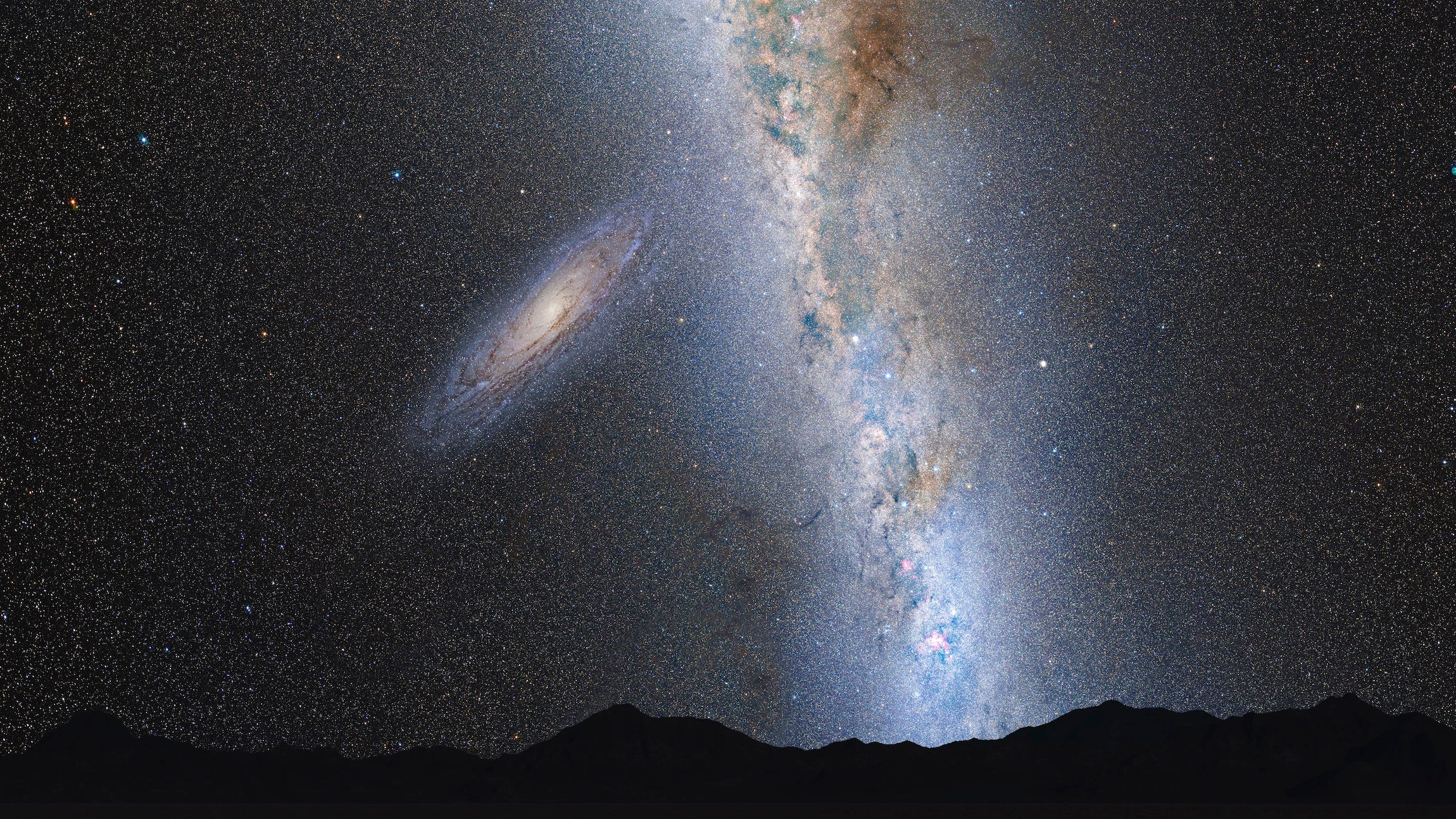 Our Galaxy will collide with the Andromeda Galaxy