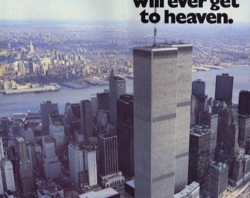 Twin Towers heaven advert