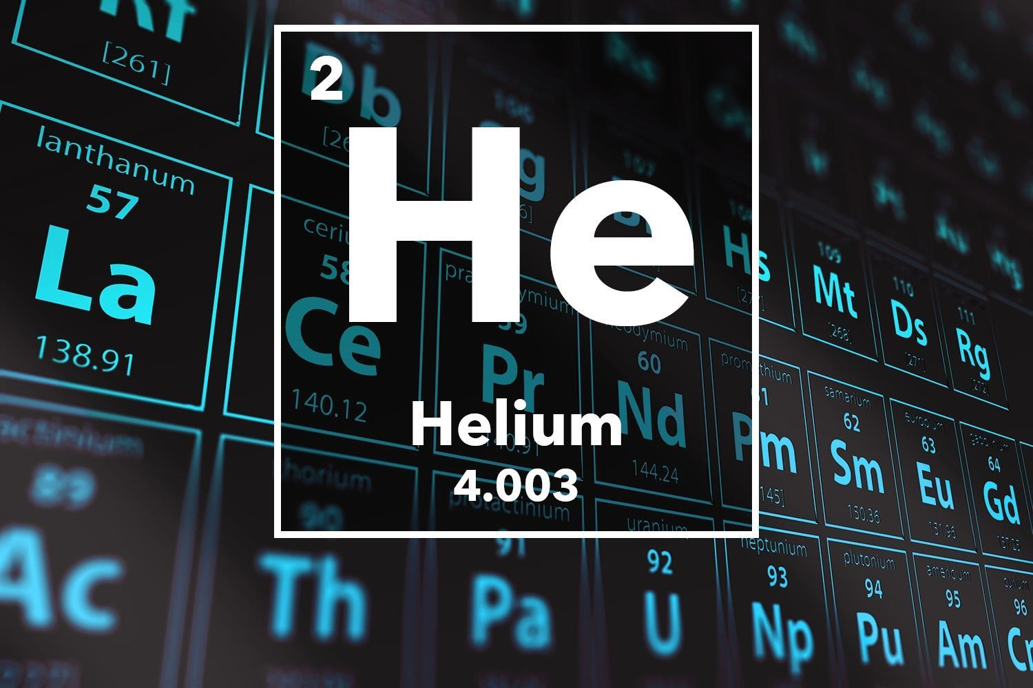 Is the world running out of Helium?