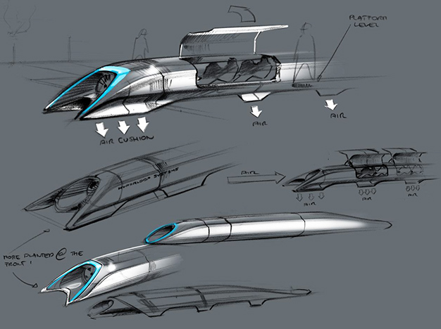 Hyperloop - Elon Musk Concept